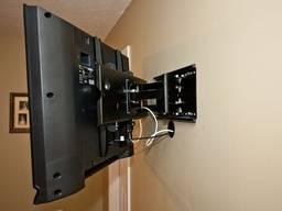 Установка телевизора на стену. Монтаж кронштейнов