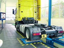 Установка тензодатчиков на тормозные стенды грузовых авто