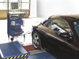Установка тензодатчиков на тормозные стенды легковых авто