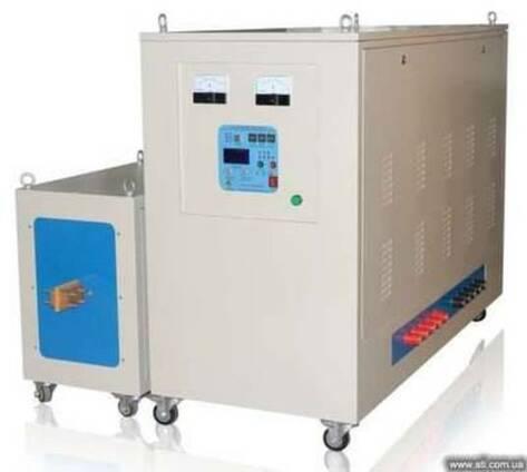 Установка ТВЧ для кузнечной обработки 25-300кВт (видео)