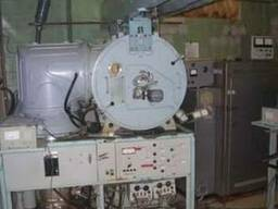 установка вакуумной металлизации с магнетроном