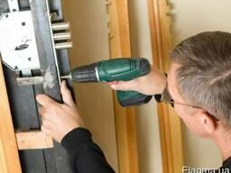 Установка врезка ремонт замка дверей. сварочные работы