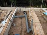 Установка выгребных, сливные ямы копка канализации, септика - фото 6
