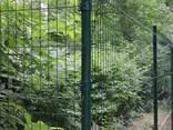 Установка Забор из сварной сетки, Ограждение 3D, Ворота - фото 3