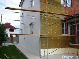 Утепление фасадов, декоративная отделка, мокрый фасад