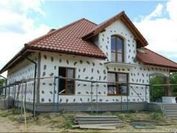 Утепление фасадов Киев Короед, барашек, мозаичная штукатурка