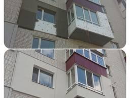 Утепление фасадов l Кровля балконов l Высотные работы