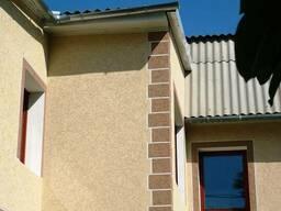 Утепление фасадов пенопластом, Покраска, побелка, шпаклевка