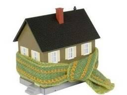 Утепления фасада дома пенопластом цена работ Киев