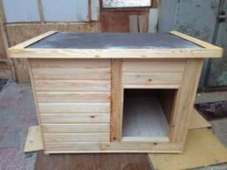 Утепленная будка для крупной и средней собаки