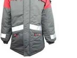 Утепленная куртка для автомойщиков, работников СТО