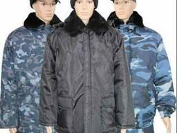 Утепленная одежда для охранных структур