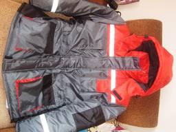 Утепленная рабочая куртка из ткани Оксфорд