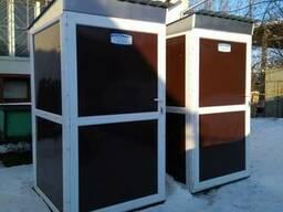 Утепленный биотуалет