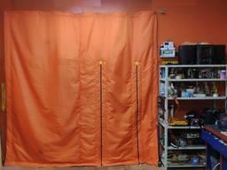 Утепленные 3-х слойные шторы