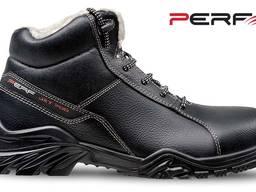 Утепленные ботинки из натуральной кожи с водоотлакивающей пропиткой