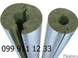 Утеплитель базальтовый для труб фольгированный армированный