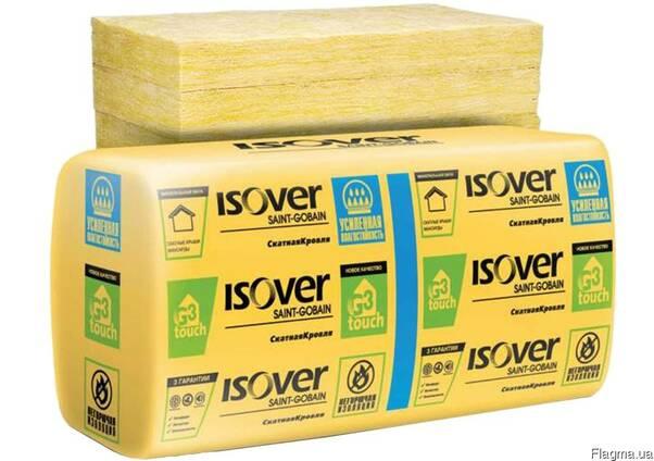 """Утеплитель минерал. """"Isover"""" Скатная кровля 50мм 14,27м.кв"""