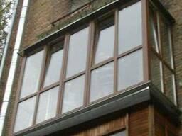 Увеличим балкон. Балконы с выносом по полу.