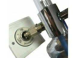 Увлажнитель кислорода Y-002 с расходомером и настенным газовым клапаном (кислородной. ..