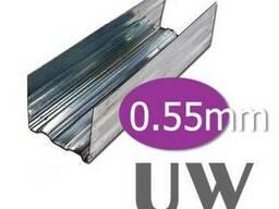 UW-профиль 3м. (100 / 0, 55)