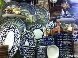 Узбекская керамика «Шах »