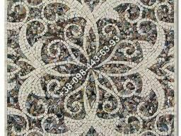 Узор из мрамора (декор из мраморной мозаики)