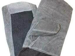 Вачеги сталеваров защитные из спилка и сукна