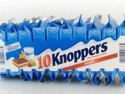 Вафли Knoppers Молочный крем и орех 250г