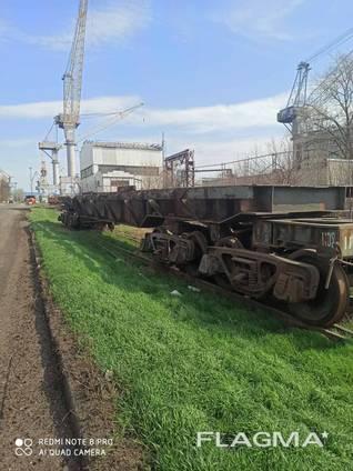 Вагон платформа транспортёр
