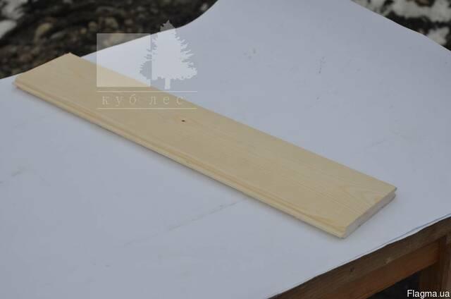 Вагонка безшовна 100 мм із Карпатської смереки