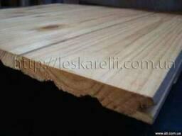 Вагонка деревянная смерека, дом