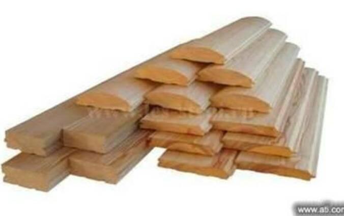 Вагонка деревянная сосна. ольха, блок-хаус, половая доска.