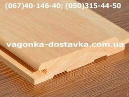 Вагонка деревянная сосна, ольха, липа