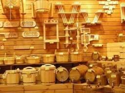 Вагонка, двери, бондарные изделия для сауны