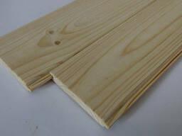 Вагонка двостороння з деревини сосни