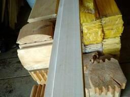 Вагонка деревянная. Сосна, липа, ольха. Монтаж бань и саун.