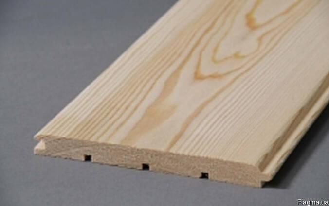 Вагонка штиль из лиственницы (14*96\121)