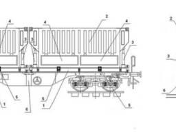 Вагоны с поворотным, наклонным или съемным грузовым модулем