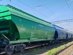 Вагоны-зерновозы модель 19-7053-02