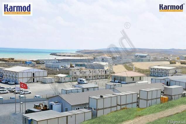 Вахтовые поселки и строительные городки Кармод