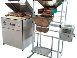 Упаковка орехов в вакуум. Линия упаковки орехов в вакуум.