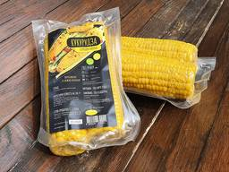 Вакуумированная вареная кукуруза в початках