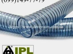 Вакуумная гофра из ПВХ с металлической спиралью