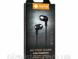Вакуумные наушники-гарнитура DeepBass D150 - H0040
