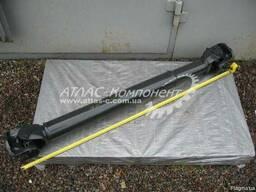 Вал карданный привода среднего моста L=1418мм фл. ISO КамАЗ - фото 1