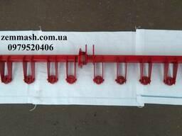 Вал механизма навески сошников (левый, квадратный) СЗ-5,4