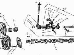 Вал распределительный А-01М, 6Т2-0501-3