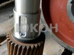 Вал тихоходный средний (Усиленный) гранулятора ОГМ 1.5