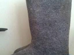 Валенки суконные на резиновом ходу